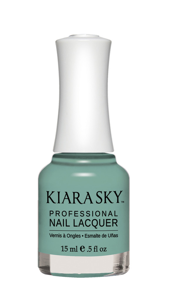 NAIL LACQUER - N493 THE REAL TEAL