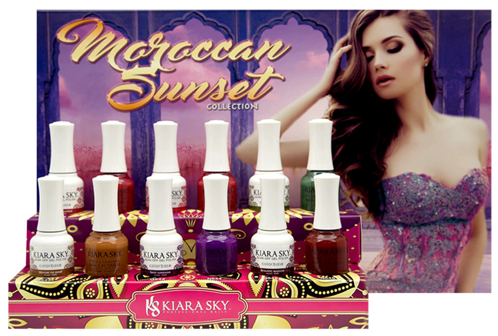 MOROCCAN SUNSET COLLECTION (543 - 548)