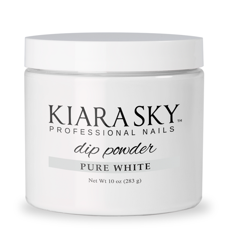 10oz DIP POWDER - PURE WHITE