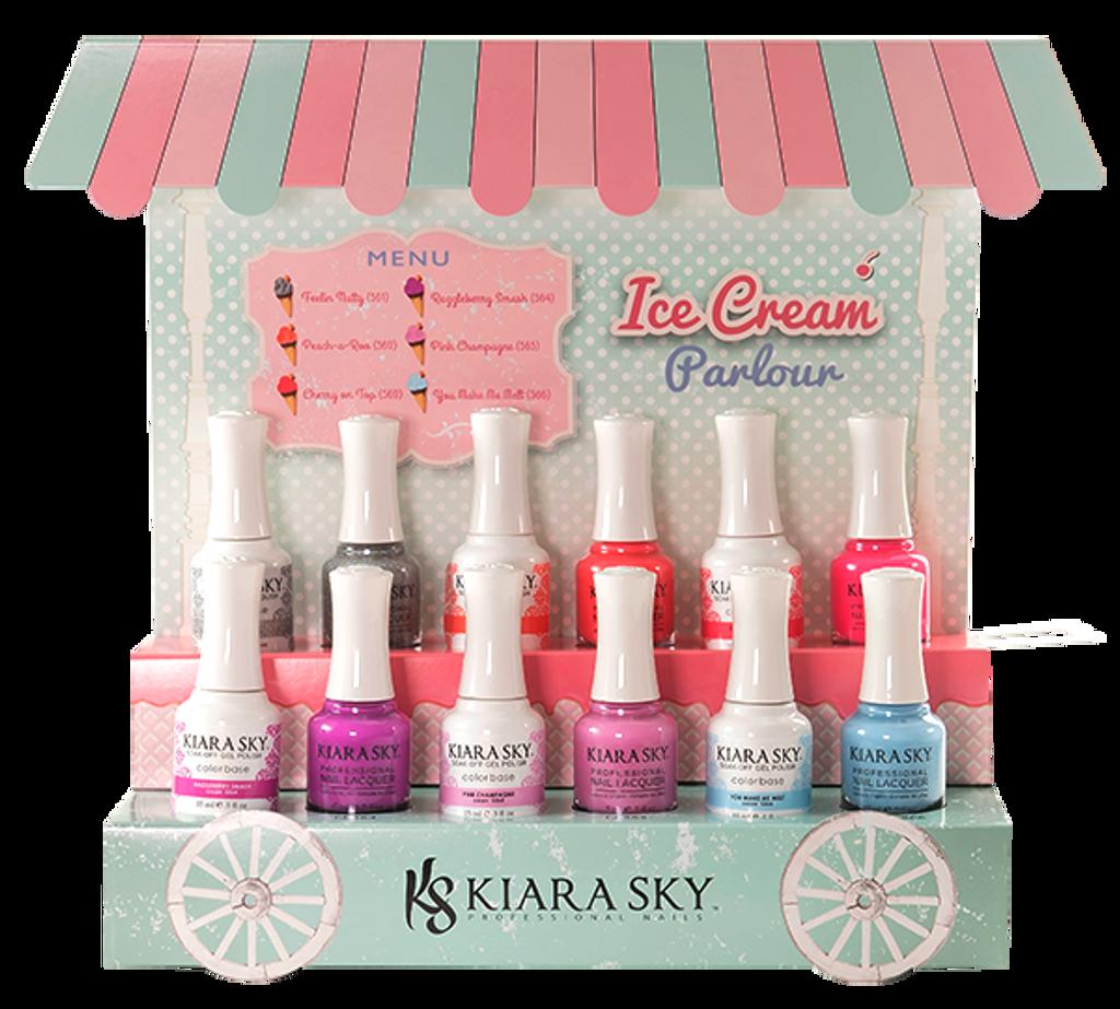 ICE CREAM PARLOUR COLLECTION (561 - 566) - Kiara Sky Professional Nails