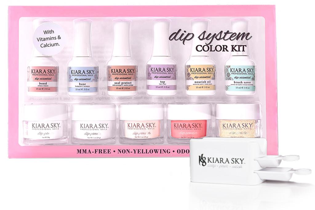 DIP SYSTEM COLOR STARTER KIT - Kiara Sky Professional Nails