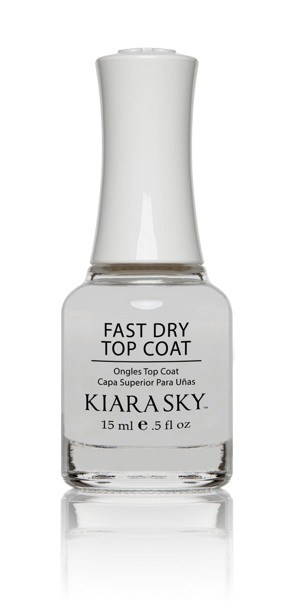 NAIL LACQUER TOP COAT - FAST DRY - Kiara Sky Professional Nails