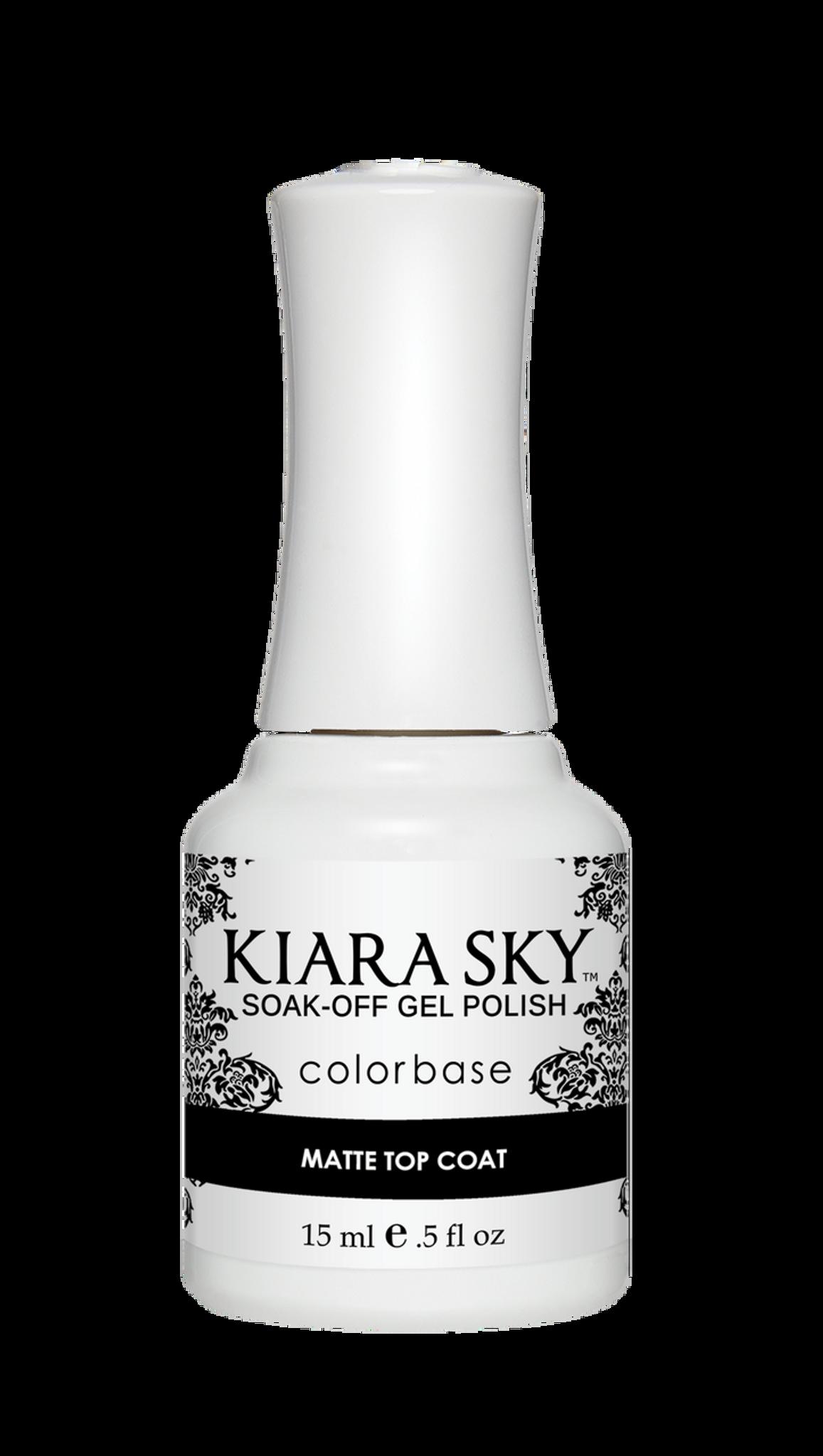 GEL POLISH - MATTE COAT - Kiara Sky Professional Nails