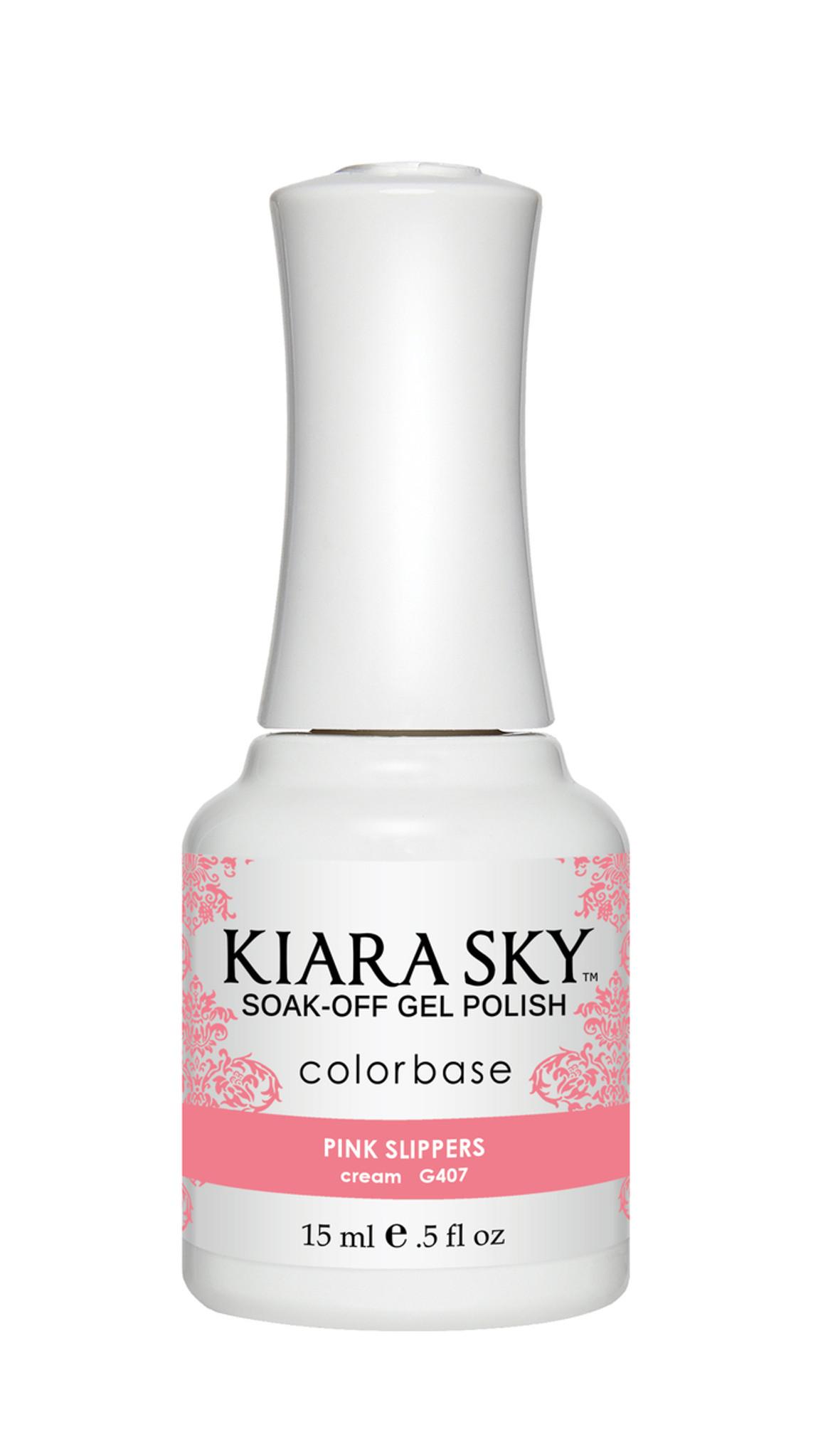 Light Pink Gel Polish | Pink Slippers Gel Nail Polish