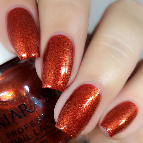 NAIL LACQUER - N457 FROSTED POMEGRANATE