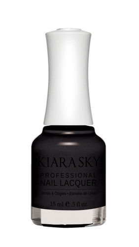 NAIL LACQUER - N435 BLACK TO BLACK