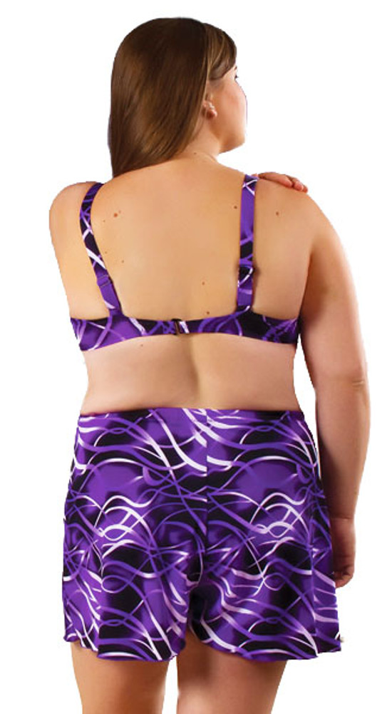 Women's Plus Best Fit and Supportive Underwire Bikini Bra Style Top #705W Bra Cup Sizes B-G