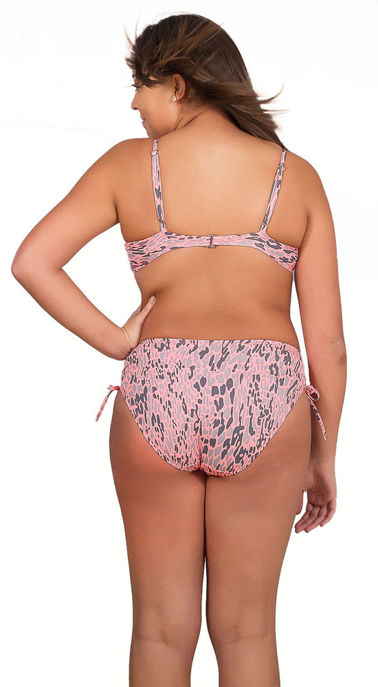 Women's Plus Ruched Adjustable Side Bikini Bottom #83W Sizes 14-26