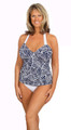 Open Back Tankini Demi Cup undrwire #153 Sizes B-DD