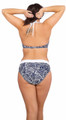 Women's Plus Soft Waisted Band Bikini Bottom #39W Sizes 18-26