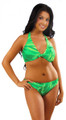 Women's Halter Bikini Top with center bow #105 Bra Sizes A-E