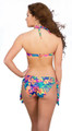 Women's Underwire Push Up Halter Bikini Top  #908 Bra Sizes AA-D