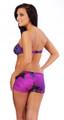 Women's Short Low Rise Hipster Boy-short Swim Bottom #7039 Sizes 2-18
