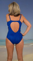 Sexy One Piece with cut out sides, a key-hole back