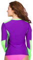 Women's Long Sleeve Athletic Rash Guard