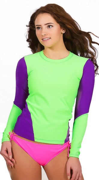 Fitted Long Sleeve Rash Guard