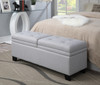 Storage Upholstered Bed Bench Trespass Marmor - DS-2281-683
