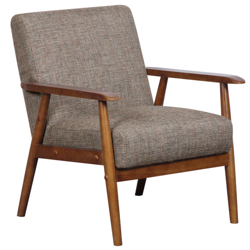 Wood Frame Accent Chair in Calypso Waterfall- DS-D030003-487
