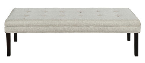 Linen-like Modern Tufted Bed Bench - DS-D029001-459