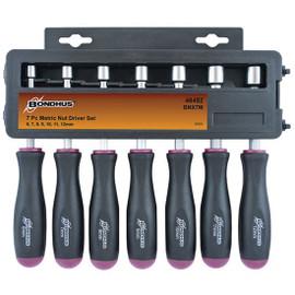 Bondhus 48492 | 7pc 6-12mm Metric Nutdriver Set
