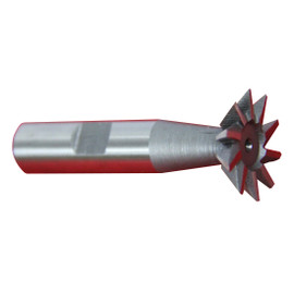 """All Industrial 19506   1pc 1"""" X 45 Degree Premium HSS Dovetail Cutter Milling High Speed Steel"""