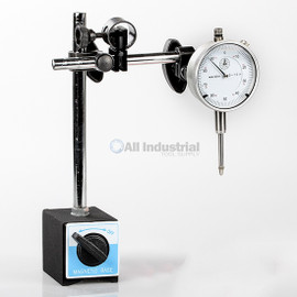 All Industrial 51904 | 0-1 Inch Dial Indicator & Magnetic Base Precision Inspection Set