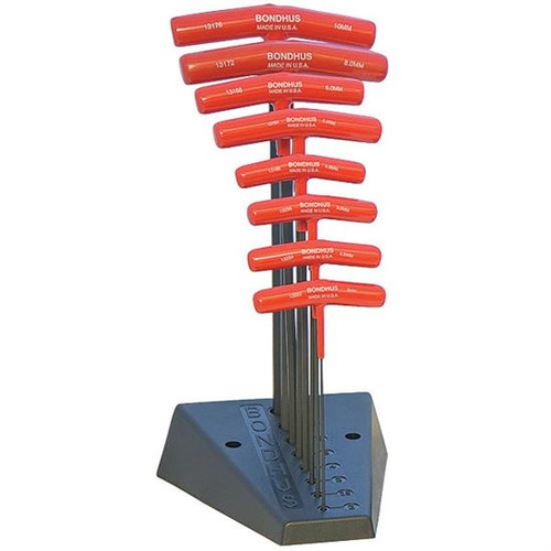 Bondhus 15332 | 9pc T-Handle Hex Key Set