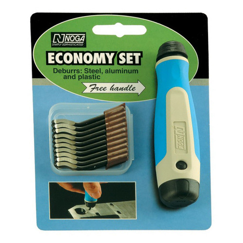 Noga NG8200 | S10 Heavy Duty HSS Blade 20 Pack with Free NogaGrip Handle