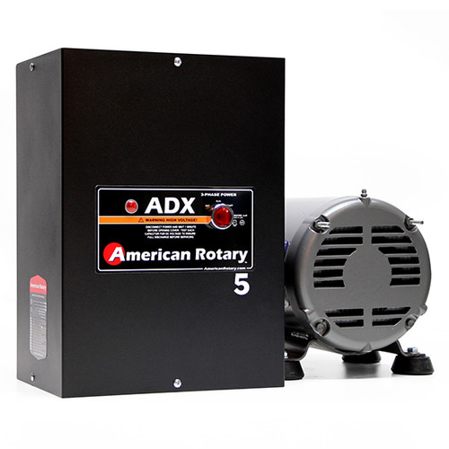 American Rotary ADX05 | 5HP 240V ADX Series Rotary Phase Converter