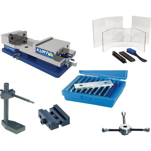 Kurt DX6 | Vise with Accessories Set B