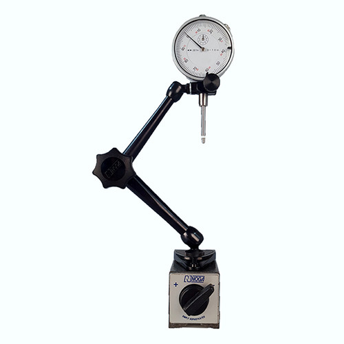 "All Industrial 52000 0-1"" Dial Indicator & Noga DG10533 Magnetic Base"