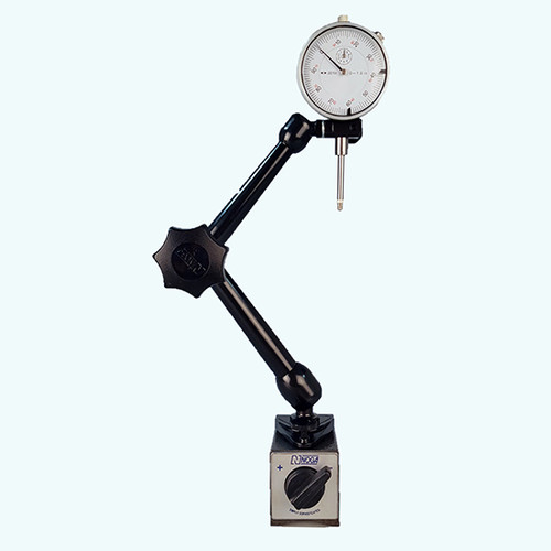 "All Industrial 52000 0-1"" Dial Indicator & Noga MG10533 Magnetic Base"