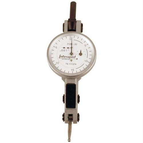 Interapid 312B-20 | 0-15-0 Horizontal Type Dial Test Indicator