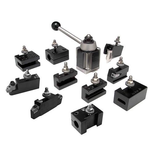 Aloris CA-4-AS | 11pc. Tool Set Tool Post & Holders