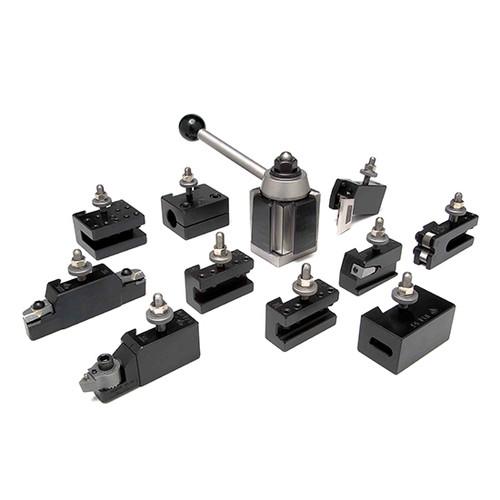 Aloris CXA-3-AS | 11pc. Tool Set Tool Post & Holders