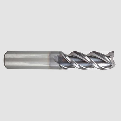 "YG1 28573TC | 1/4"" Alu-Power 3 Flute Regular Length Carbide End Mill TiCN Coated"