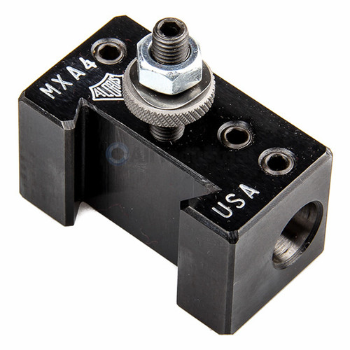 "Aloris MXA-4 | Miniature Ultra-Precision MXA #4 Boring Bar Holder 1/2"" Diameter Quick Change"