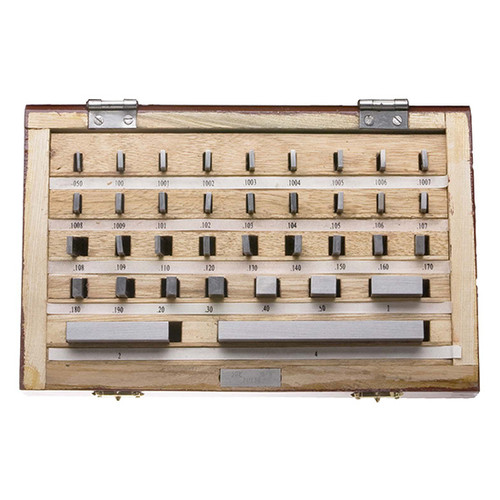 All Industrial 55202 | Gage Block Set Grade B 81pc Without Certificates