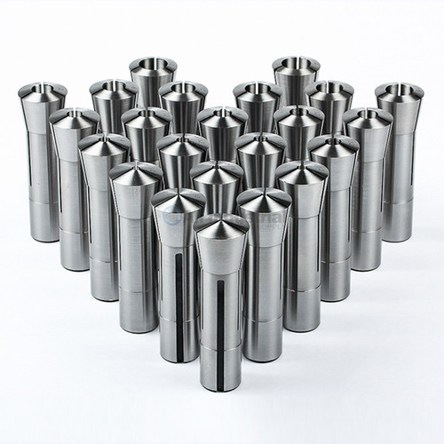 """All Industrial 41053   23pc R8 Collet Set Fractional 1/16"""" to 3/4"""" High Precsion for Bridgeport"""