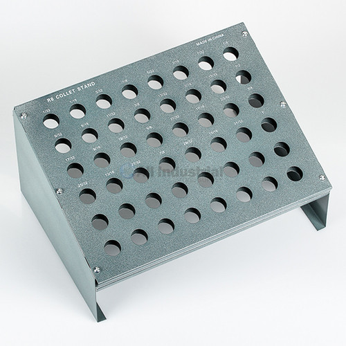 All Industrial 41062 | R8 Collet Rack With 48 Slots for Bridgeport High Precision