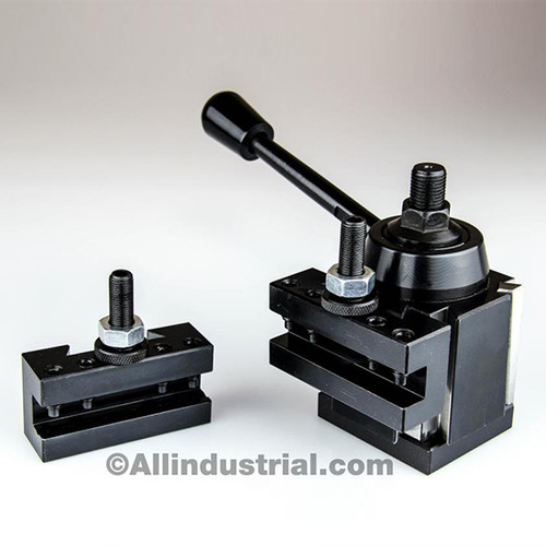 All Industrial 47027 | 3pc OXA Wedge Tool Post Intro Set for Mini/Hobby Lathes Quick Change Tooling
