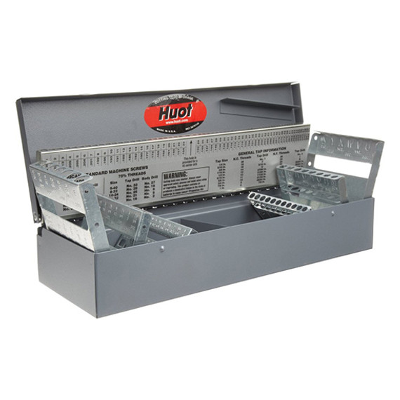 Huot 11700 | Combination Fractional, Wire Gauge & Letter Drill Dispenser
