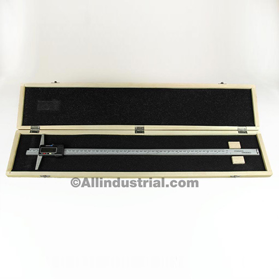 "All Industrial 51154 | 0-12"" Electronic Depth Gage 4"" Base 0.0005"" Resolution Digital Gage Spc Output"