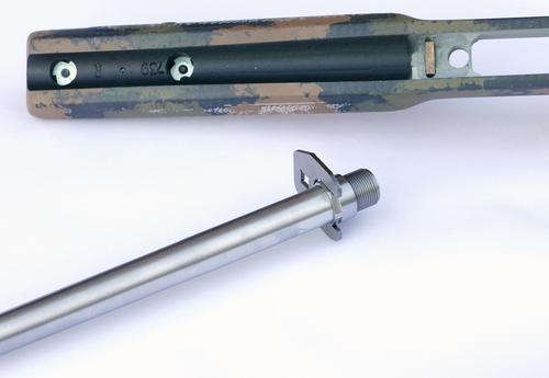 Tikka T3 barrel blank with Medium Palma inlet composite stock