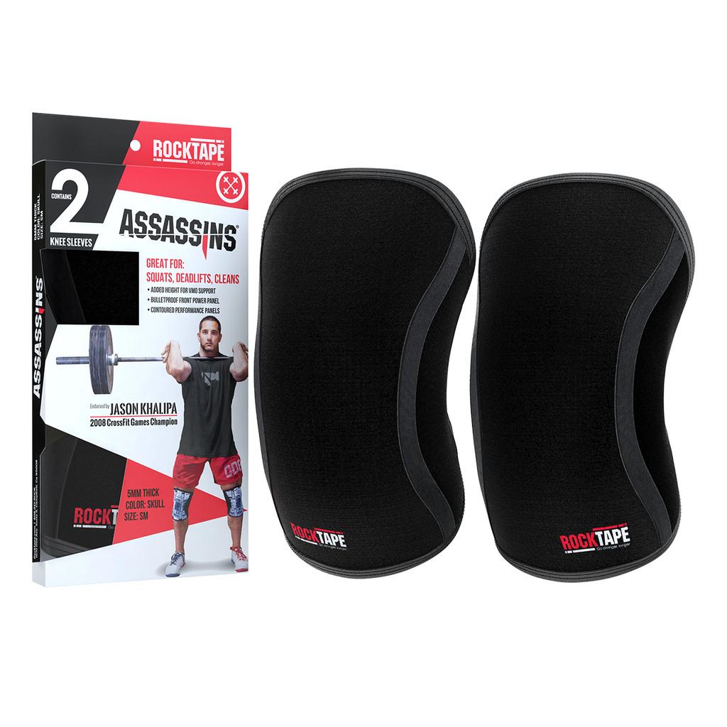 RockTape Assassins Knee Sleeve - Black