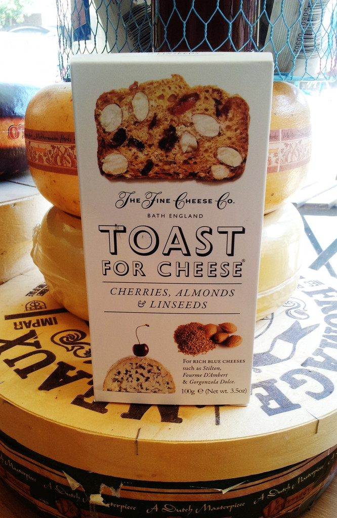 Toast for Cheese - Cherries, Almonds & Linseeds