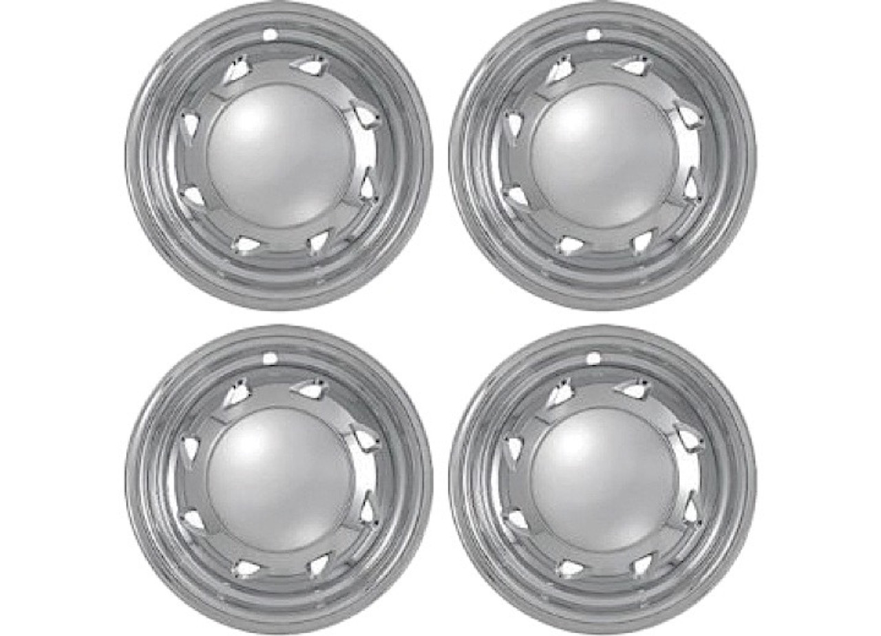 """Promaxx (Set Of 4) 94-04 S10/Sonoma 15"""" 8 Directional Triangles Quick Fit Wheel Skin #IWCIMP/16X"""