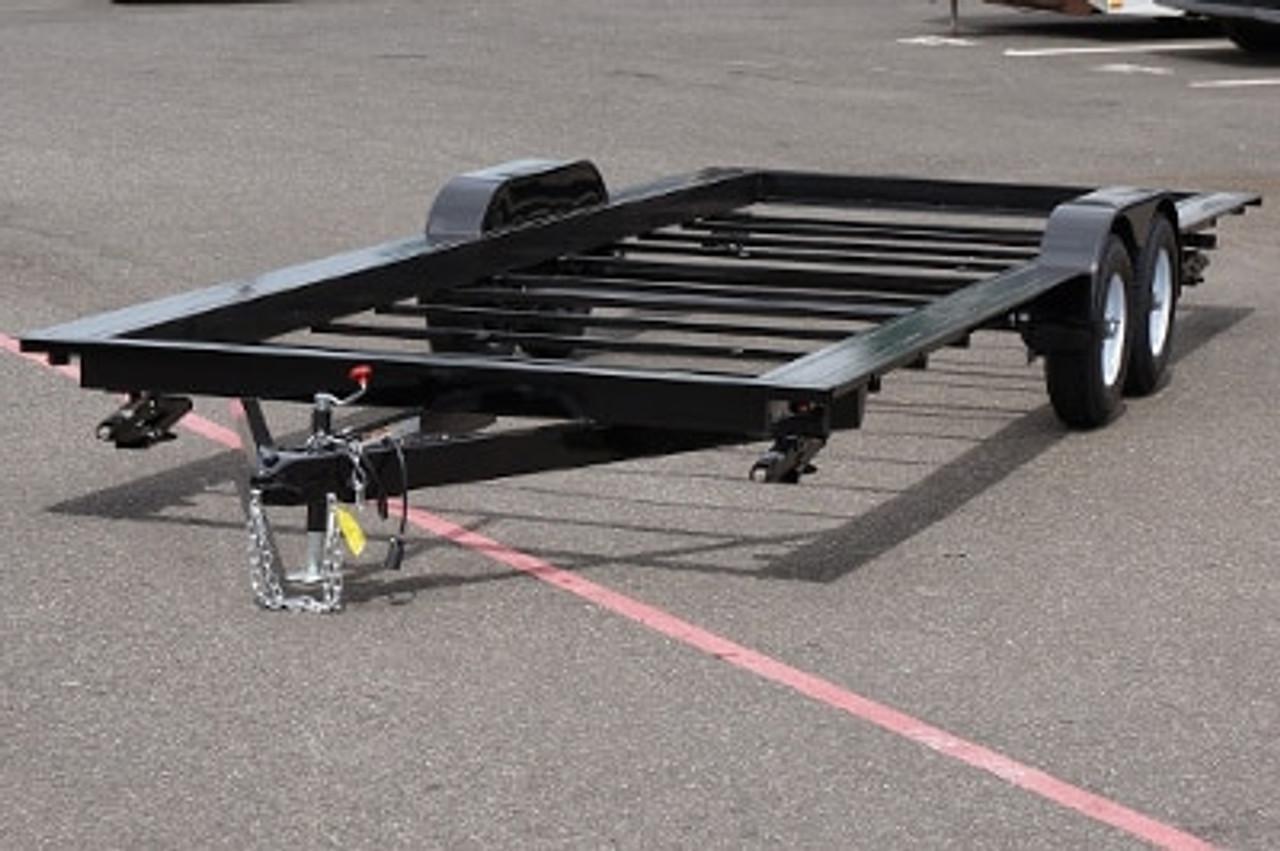 Iron Eagle Steel Frame 8-1/2' X 26' 14K Tandem Axle PAD Trailer #PAD-14K26ee