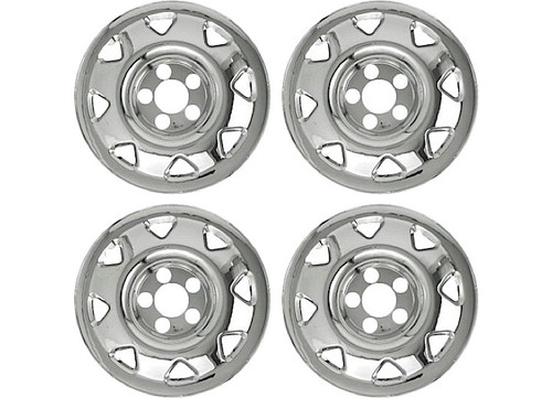 """Promaxx (Set Of 4) 97-01 CRV 15"""" 8 Triangle Openings Quick Fit Wheel Skin #IWCIMP/11"""