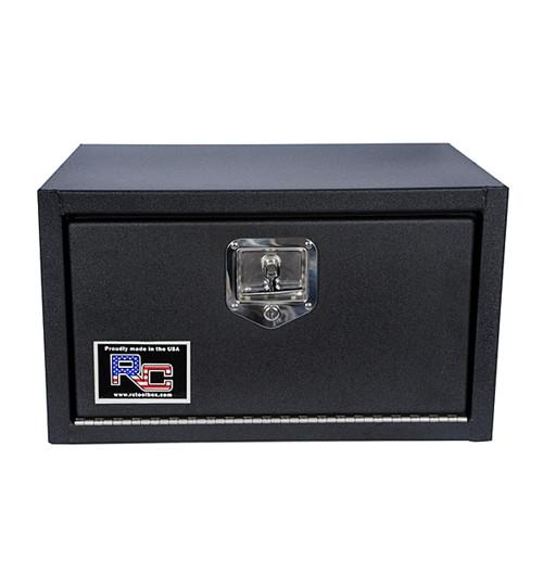 """RC Industries 24"""" x 18"""" x 18"""" Textured Black Finish Toolbox #UBT1818-24"""